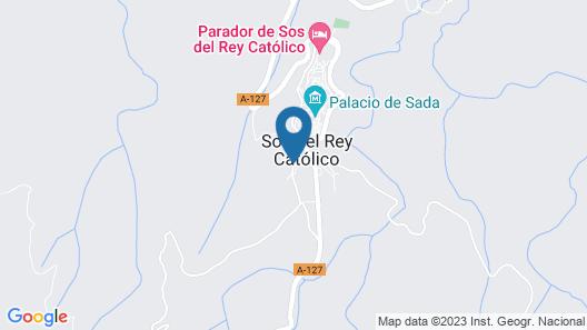 Apartamentos de Turismo Rural Vinacua Map