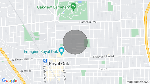 Lower Flat  Downtown Royal Oak Map