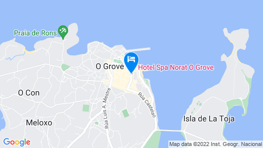 Hotel Spa Norat O Grove 3* Superior Map