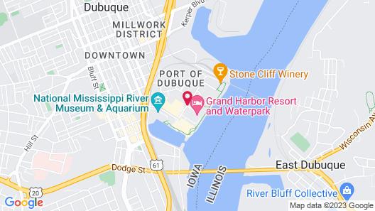 Grand Harbor Resort and Waterpark Map