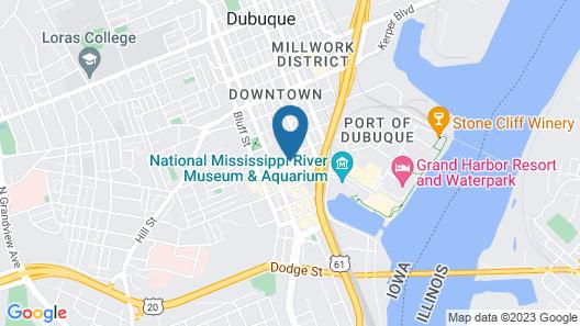 Holiday Inn Dubuque/Galena, an IHG Hotel Map