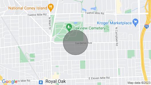 Beautiful Gardenia House - Walk to Downtown RO Map