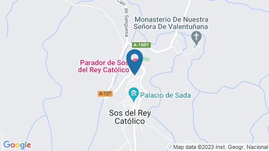 Parador Sos Del Rey Catolico Map
