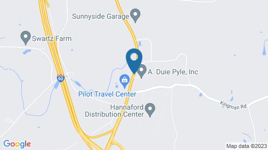 Bel Air Motel Map