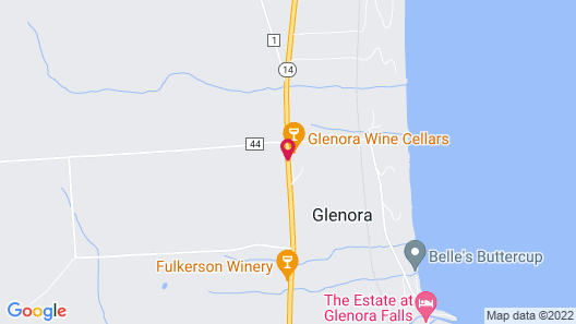 The Inn at Glenora Wine Cellars Map
