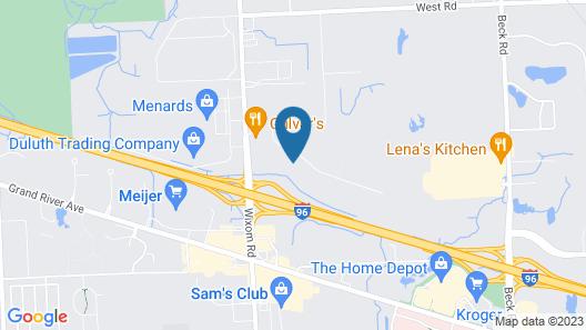 My Place Hotel-Wixom/Novi/Detroit, MI Map