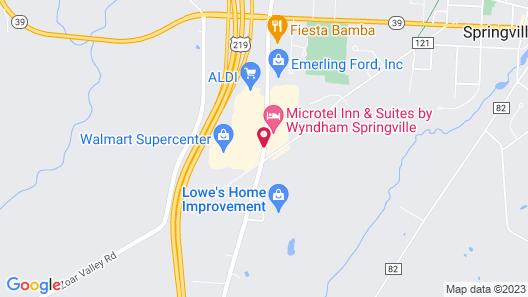 Microtel Inn & Suites by Wyndham Springville Map