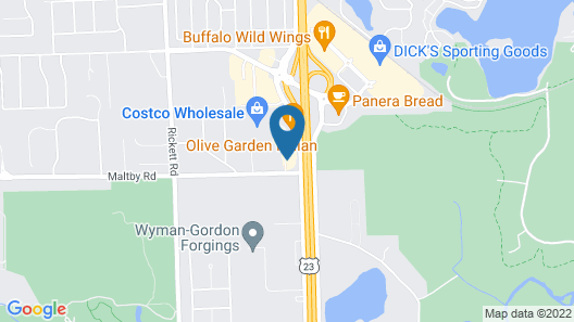 Holiday Inn Express & Suites Brighton South - US 23, an IHG Hotel Map