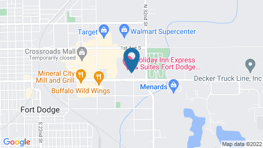 Holiday Inn Express Hotel & Suites Fort Dodge, an IHG Hotel Map