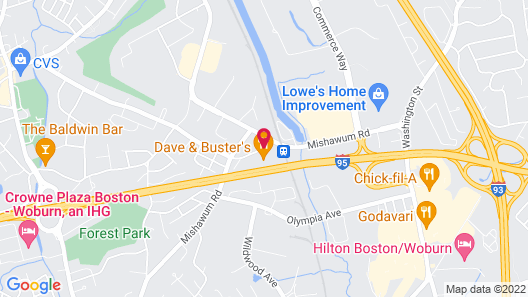 Sonesta Select Boston Woburn Burlington Map