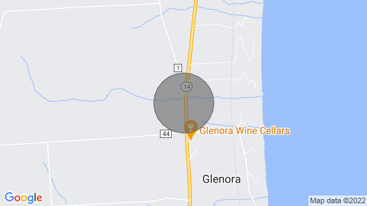 Completely Updated Home on Seneca Lake Wine Trail Map