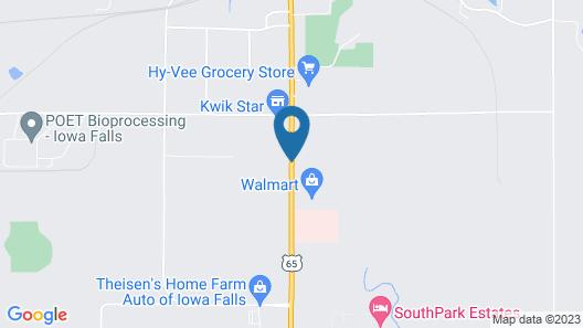 AmericInn by Wyndham Iowa Falls Map