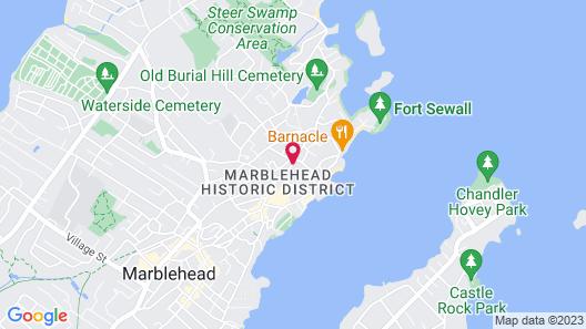 Harbor Light Inn Map