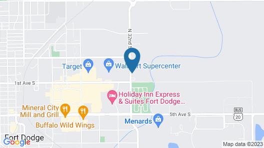 Brookstone Fort Dodge Map