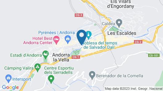 Novotel Andorra Map
