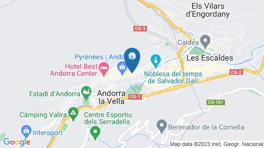 Somriu Hotel City M28 Map