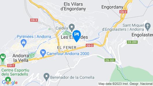 Hotel Tudel Map