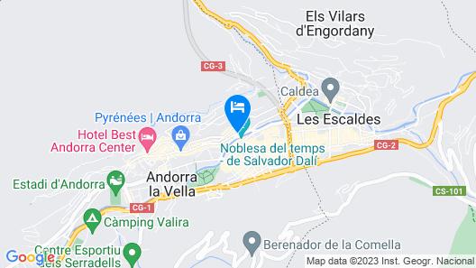 NH Andorra la Vella Map