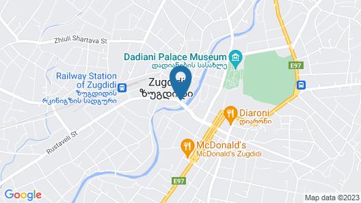 kolxeti Map