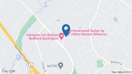 Homewood Suites by Hilton Boston/Billerica Map