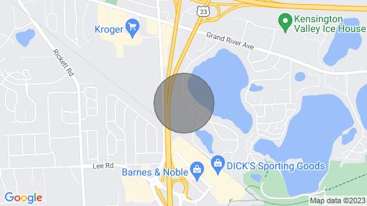 The Fonda Lake Bungalow Map