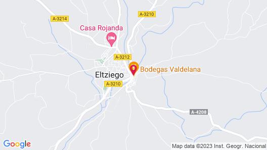 Agroturismo Valdelana Map