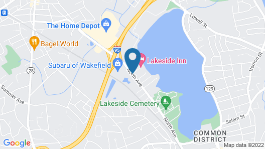 Lakeside Inn Map