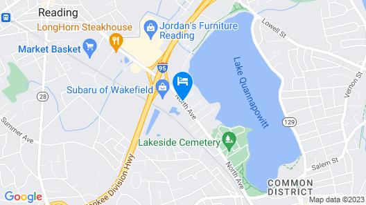Lakeside Inn Map