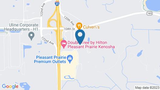Fairfield Inn & Suites Kenosha Pleasant Prairie Map