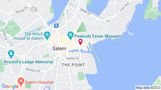 Salem Waterfront Hotel & Suites Map