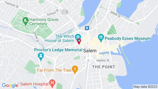The Salem Inn Map