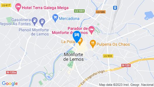 Hotel Cardenal Map