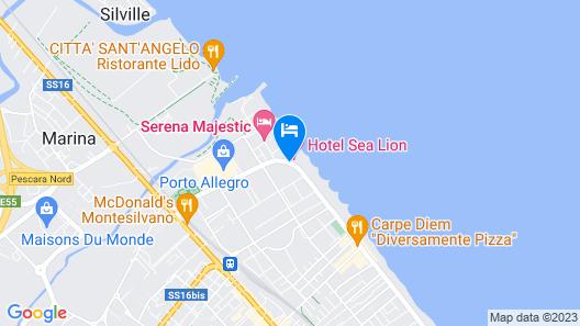 Sea Lion Hotel Map