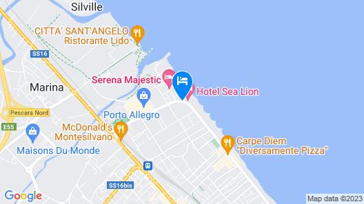 Hotel Promenade Map