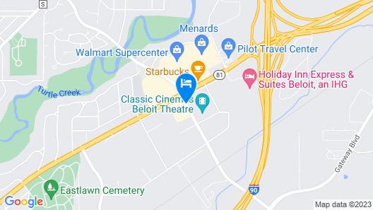 Home2 Suites by Hilton Beloit Map