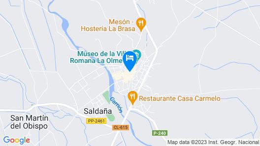 Casa Rural Plaza Vieja Map