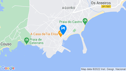 Apartment in the Ribeira overlooking the estuary and 2 minutes from the beach. Map