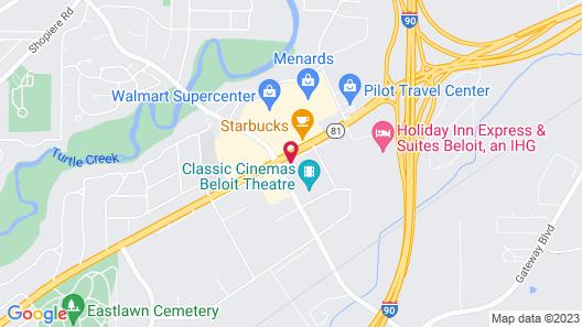 Fairfield Inn & Suites by Marriott Beloit Map