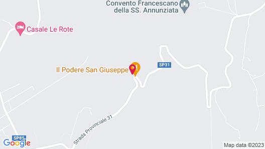 Il podere San Giuseppe Map