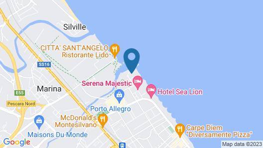 Club Esse Mediterraneo Map
