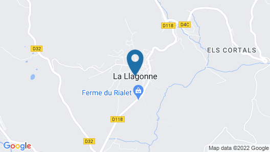 Duplex La Llagonne Map