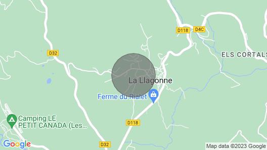 Chalet With Garden Village La Llagonne PO 66 Map