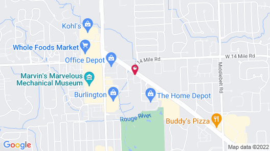 Holiday Inn Express & Suites Farmington Hills - Detroit, an IHG Hotel Map