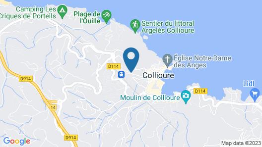 Hotel Méditerranée Map