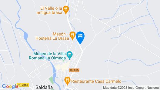 Hotel Rural Villarromana Map
