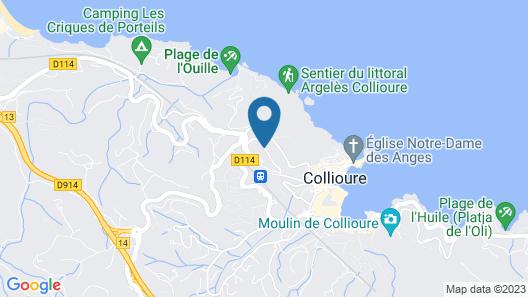 Hôtel Madeloc Map