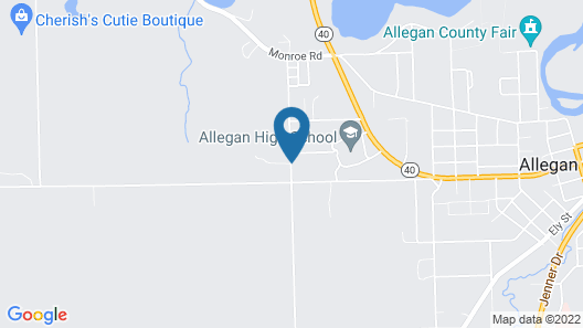 Allegan Country Inn Map
