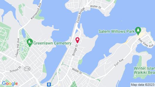 Clipper Ship Inn Map