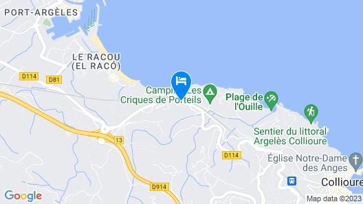 Grand Hotel du Golfe Map