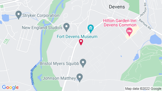 SpringHill Suites by Marriott Boston Devens Common Center Map
